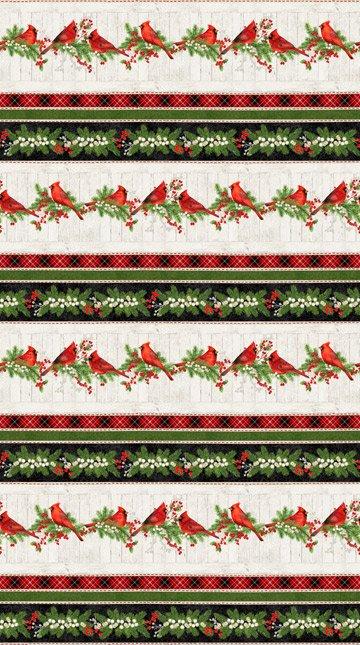 Cardinal Woods by Northcott Fabrics