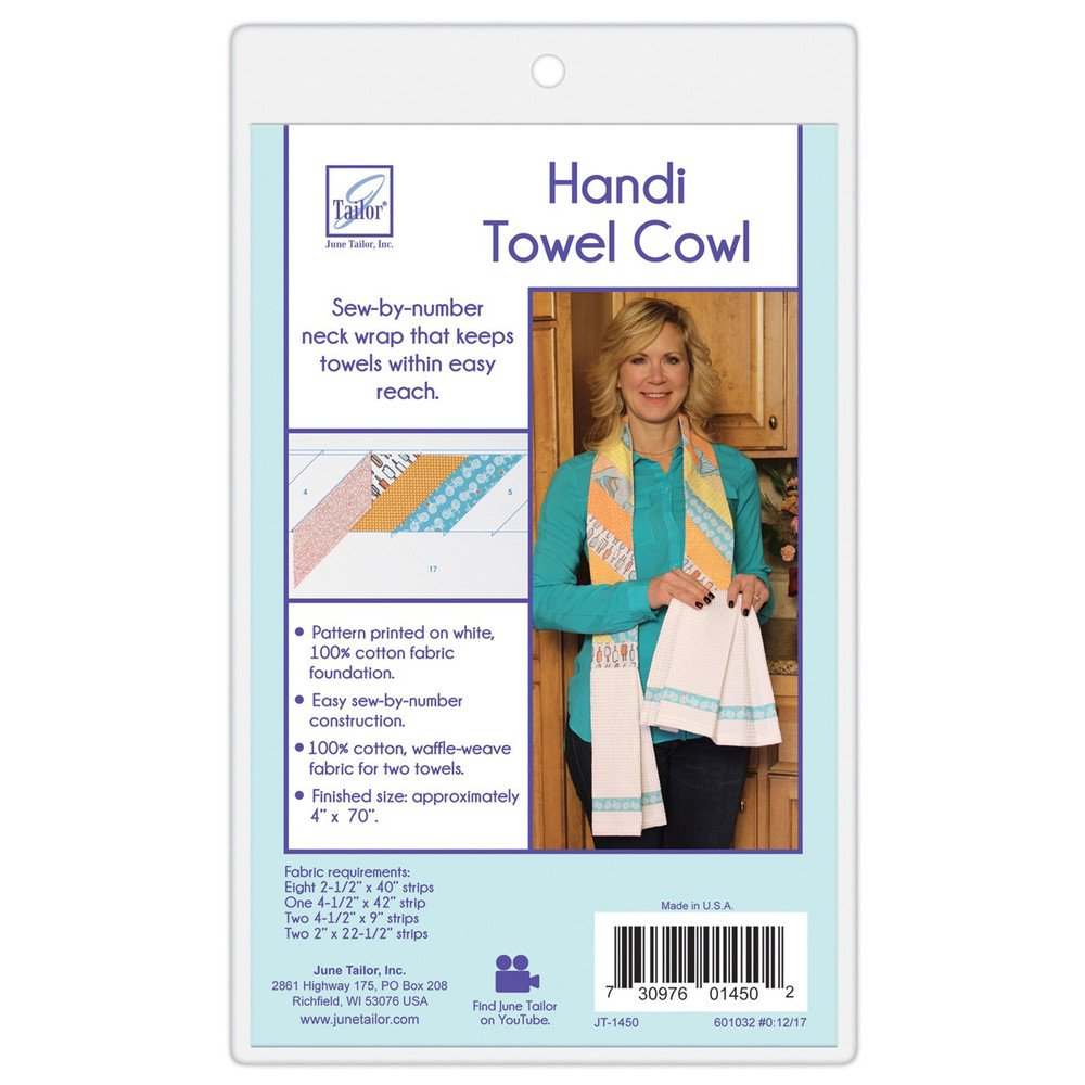 Quilt As You Go Handi Towel Cowl