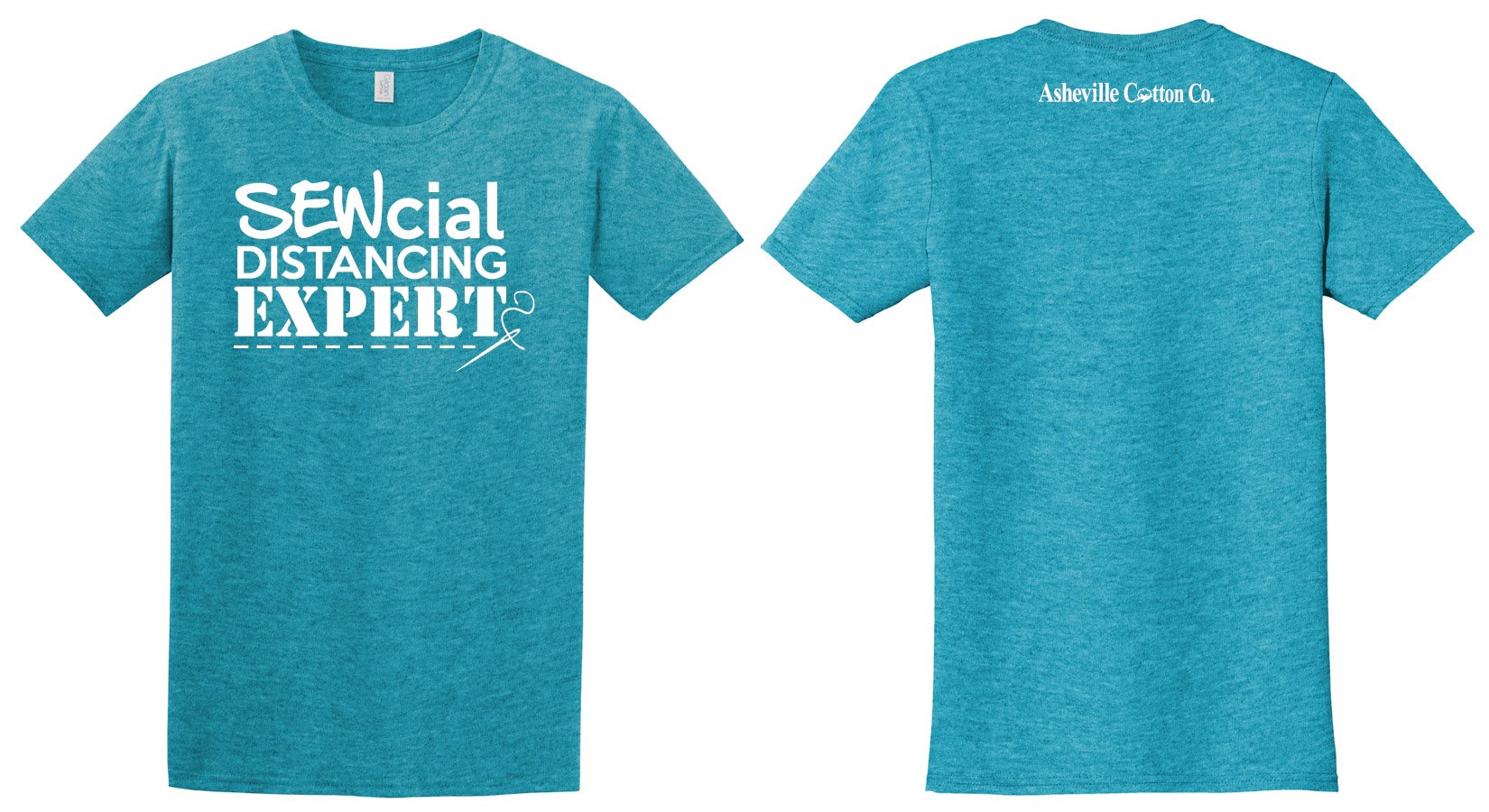 Sewcial Distancing T-Shirt Only (No fabric)