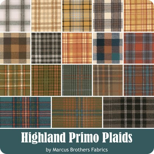 Highland Primo Plaids by Marcus Fabrics (Flannel)
