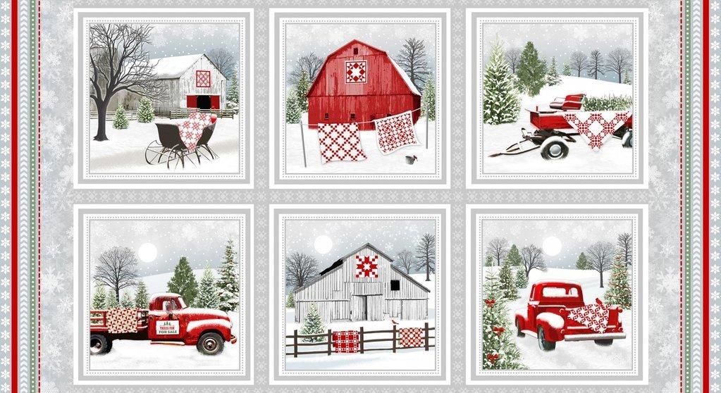 Holiday Heartland Panel