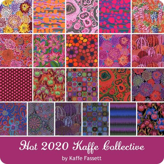 Hot and Cold 2020 Collective by Kaffe Fassett for Freespirit