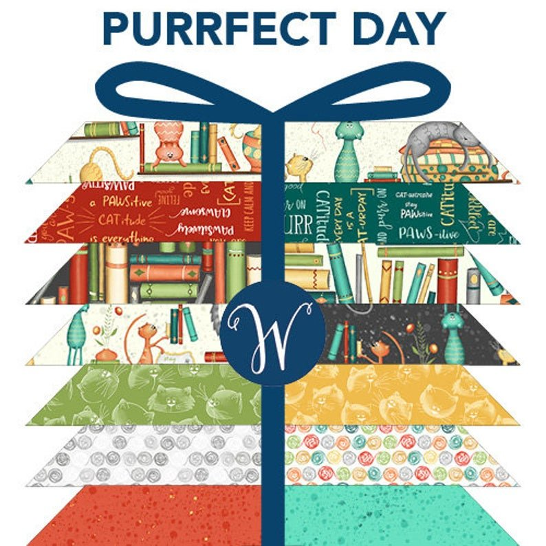 Purrfect Day by Windham Fabrics