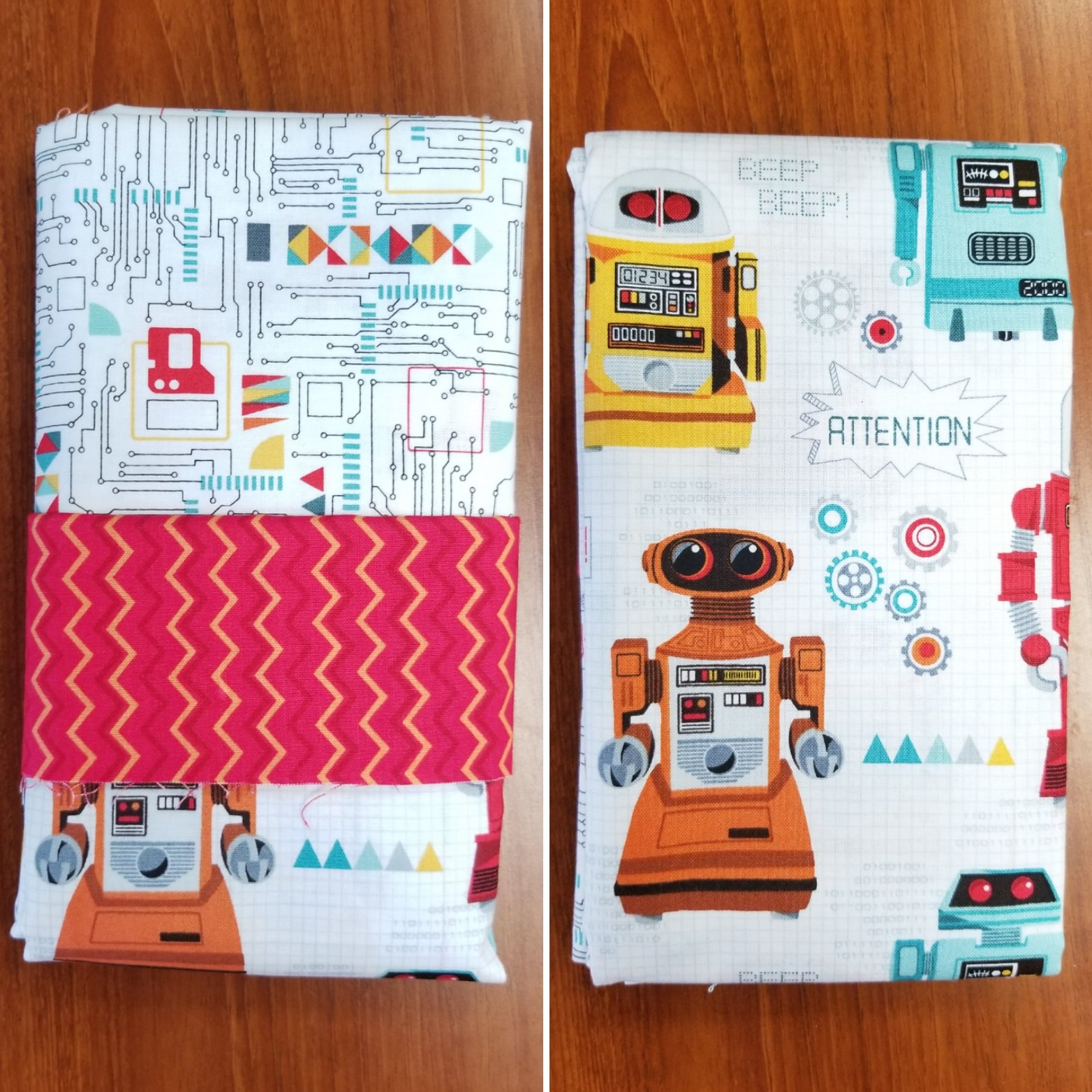 Robots Pillowcase Kit