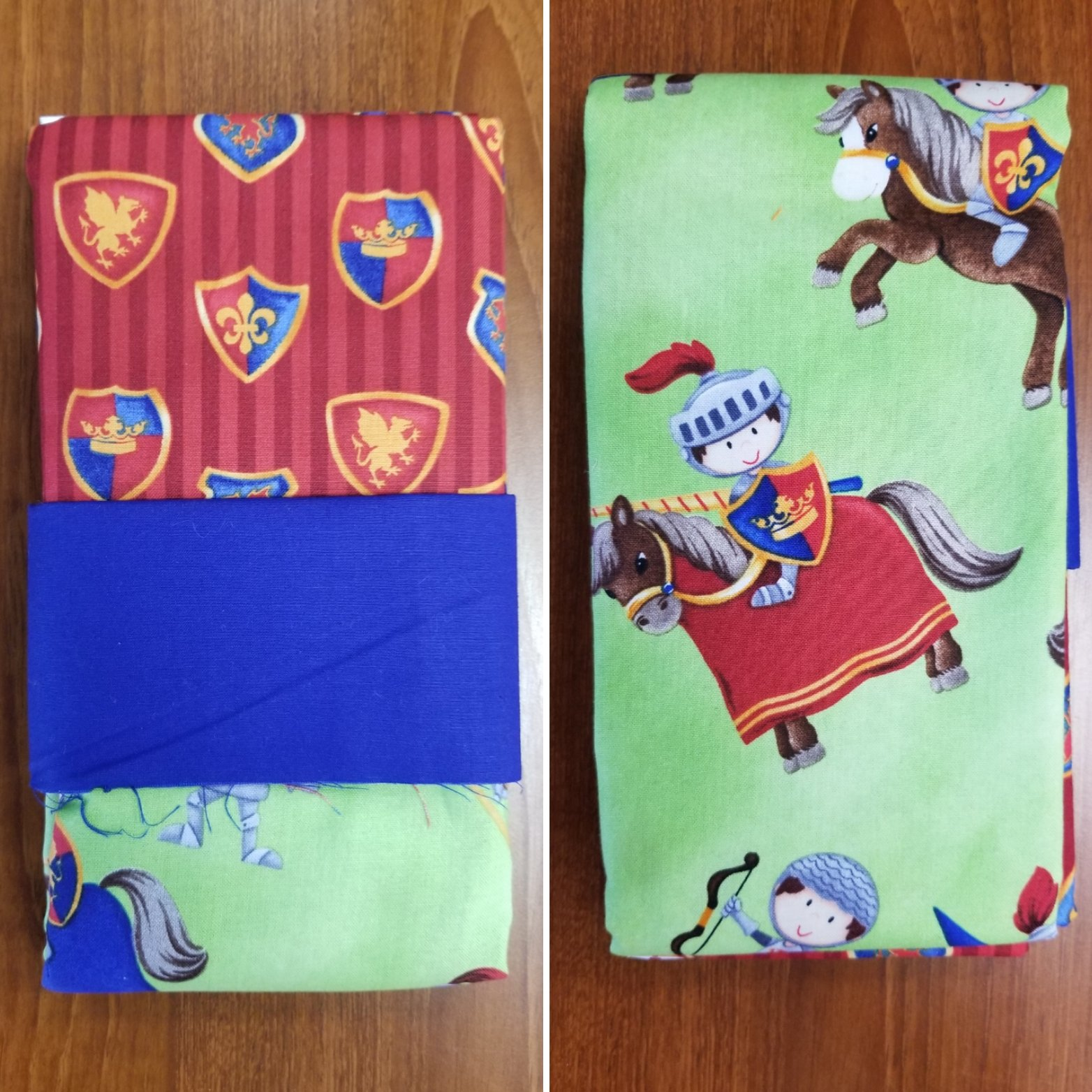 Knights in Armor Pillowcase Kit