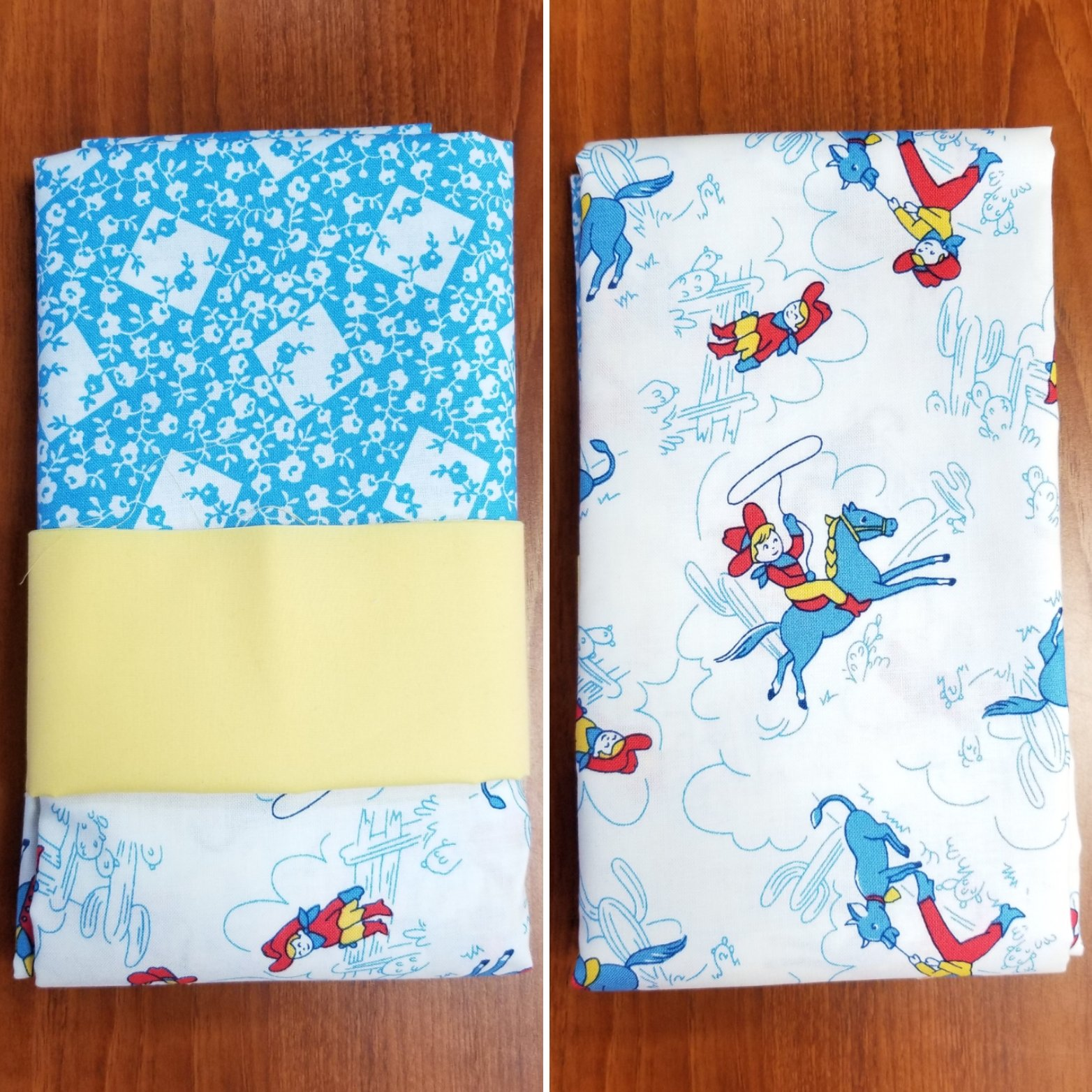 Little Cowboys Pillowcase Kit