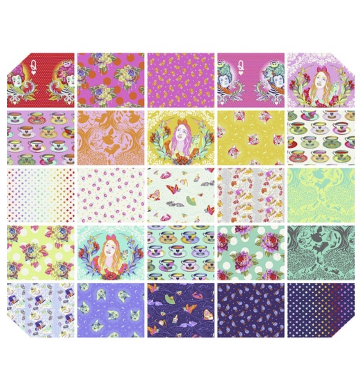 Curiouser and Curiouser by Tula Pink for FreeSpirit