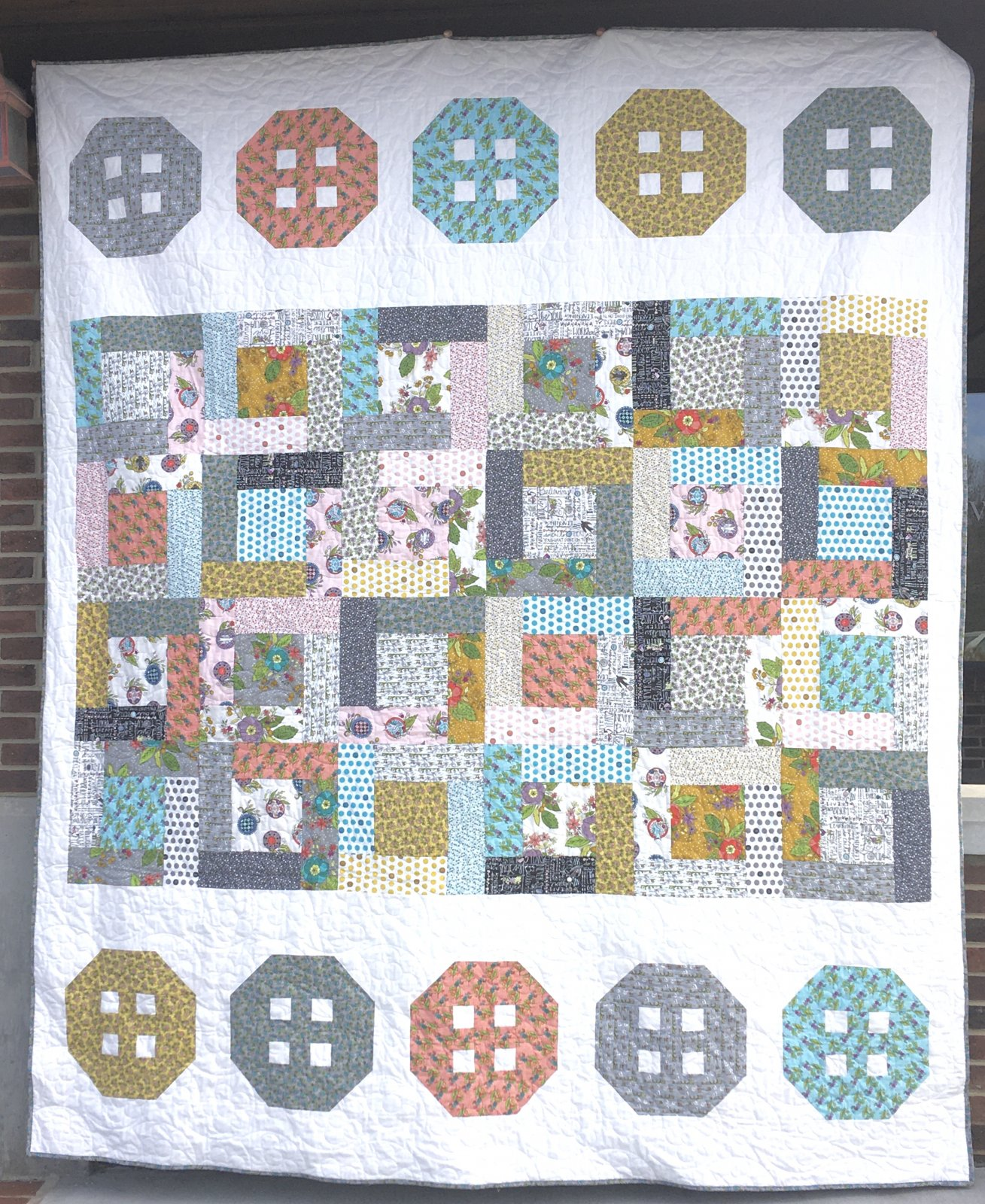 Button Boxes Quilt Kit