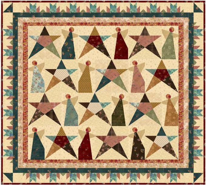 Irish Blessing quilt kit