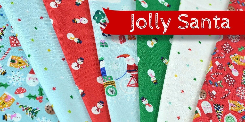 Jolly Santa by Makower UK