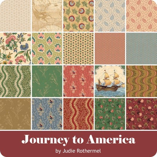 Journey to America by Marcus Fabrics