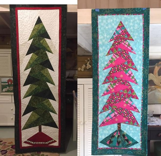 Paper Pieced Christmas Tree Pattern: Paper Pieced Christmas Tree
