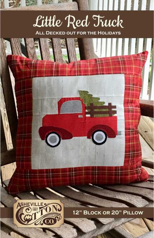 Little Red Truck Pattern (Physical Pattern)