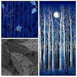 Midnight Woods by P&B Textiles