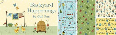 Backyard Happenings by Henry Glass
