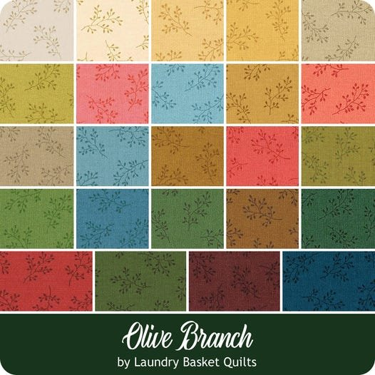 Olive Branch by Laundry Basket Quilts for Andover