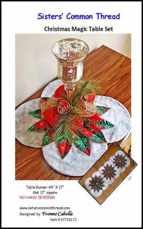 Christmas Magic Table Set Pattern