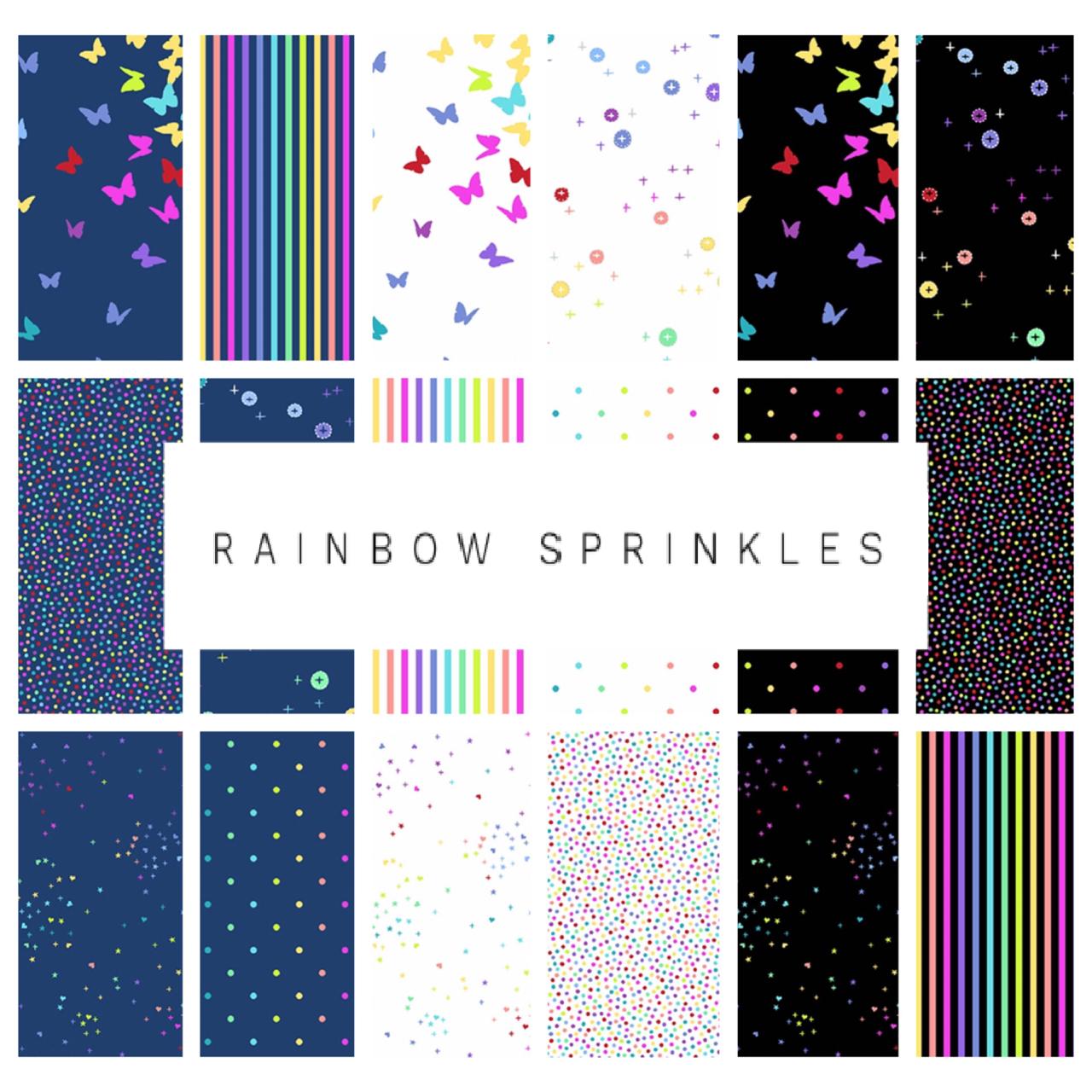 Rainbow Sprinkles by Andover Fabrics