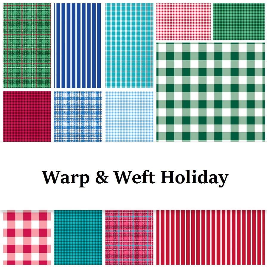 Warp & Weft Holiday woven by Contempo