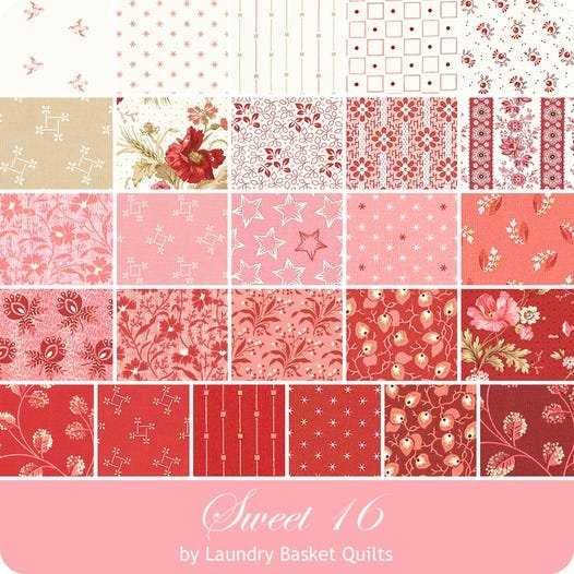 Sweet Sixteen by Landry Basket Quilts for Andover