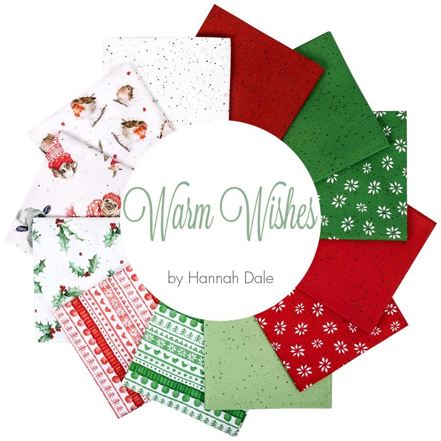 Warm Wishes by Hannah Dale for Wilmington Prints