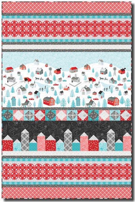 Winterscape quilt kit