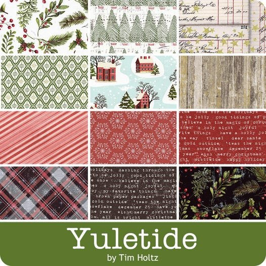 Yuletide by Tim Holtz for Free Spirit