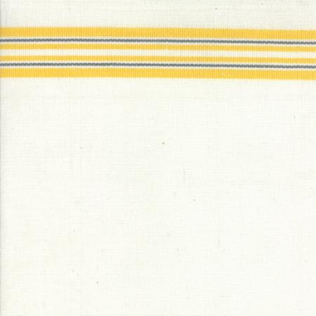 White/Yellow Striped 16 Toweling