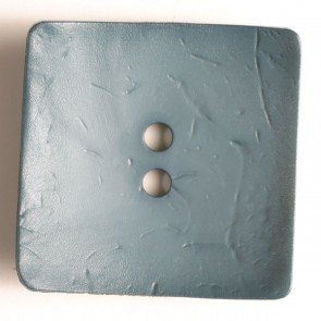 Dill Buttons - Dusty Blue Square