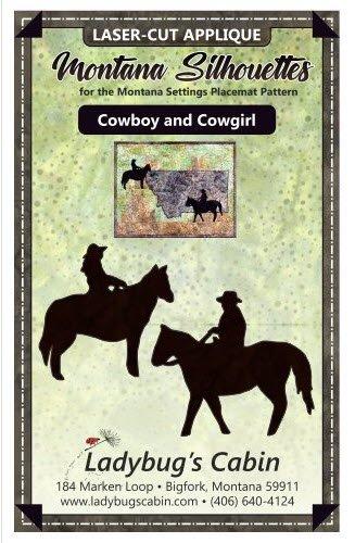 Cowboy Cowgirl Silhouettes