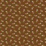 Brown Floral Bud - Golden Age