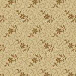 Cream Floral Sprig - Golden Age