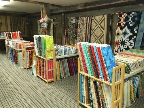 Sale fabric downstairs