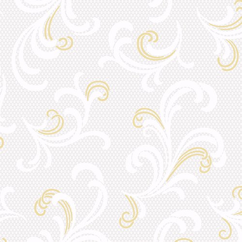 Gold/Cream Swirls - DA Celebration