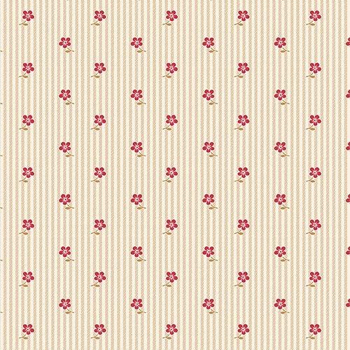 Red/Tan Prairie Flower Stripe - LHOTP