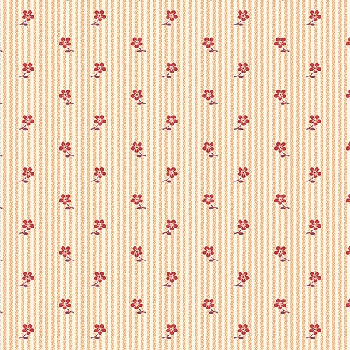 Red Prairie Flower Stripe - LHOTP
