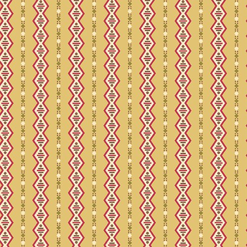 Gold Stripes - Cloverdale House