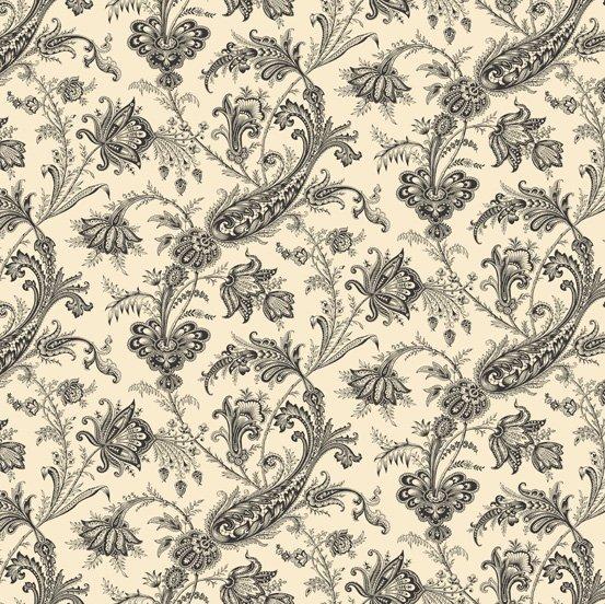 Cream Floral  - Carlisle