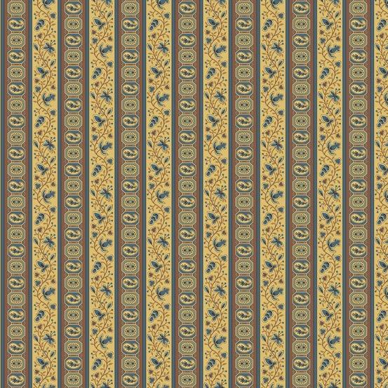 Cream Paisley Pattern  - Carlisle