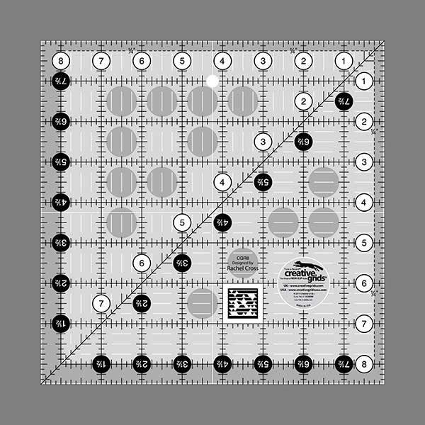 8 1/2 Square Ruler Creative Grids