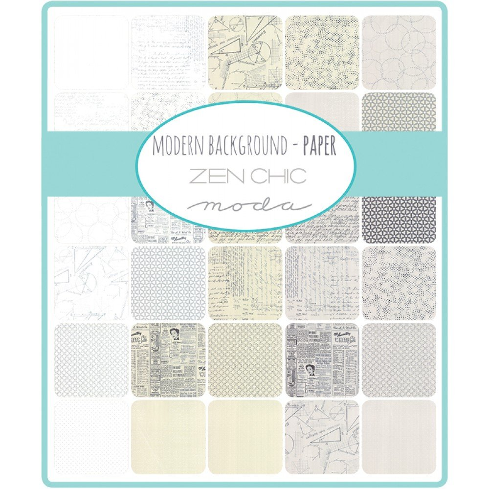 Modern Background Paper - Charm Packs