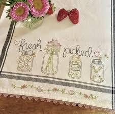 Fresh Piced Dishtowel Kit & Pattern