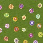DC - Avocado Folk Floral Dot