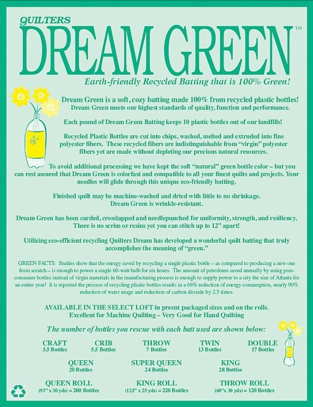 Dream Green Double 96x93