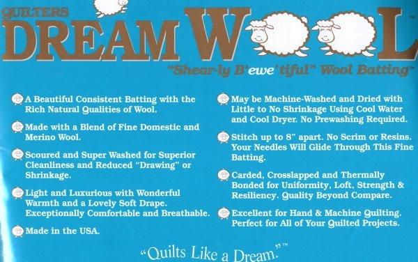 Dream Wool Super Queen 121 x 93