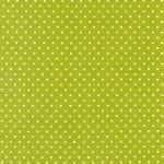 Grass Green w/ White Pin Dot - Flannel