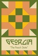 Georgia State Block 4x6