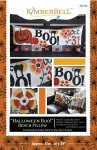 Halloween Boo! Bench pillow-Bright