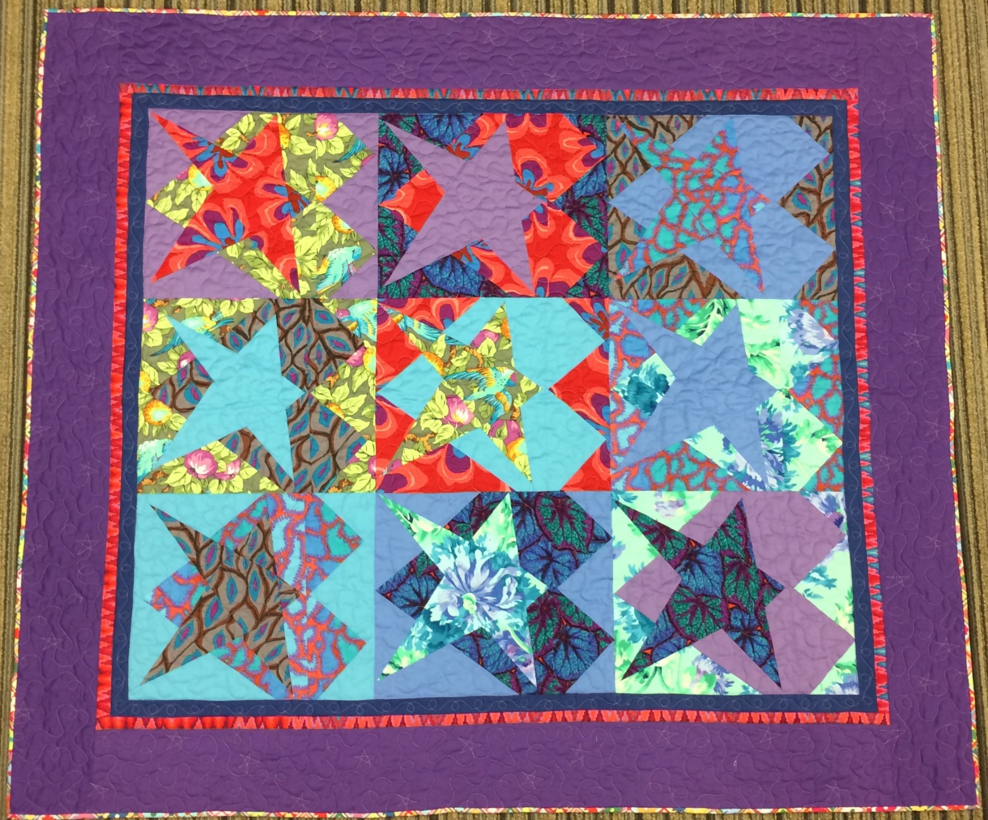 Hearts & Stars Quilt