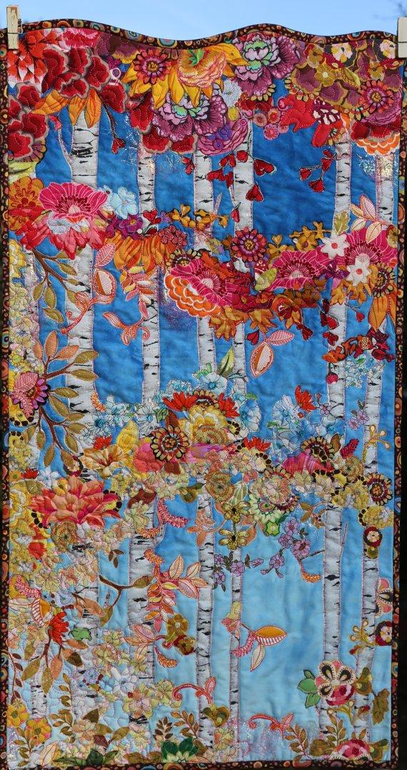 Autumn Glory Pattern - Leslie McNeil